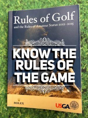 Know the Rules of Golf