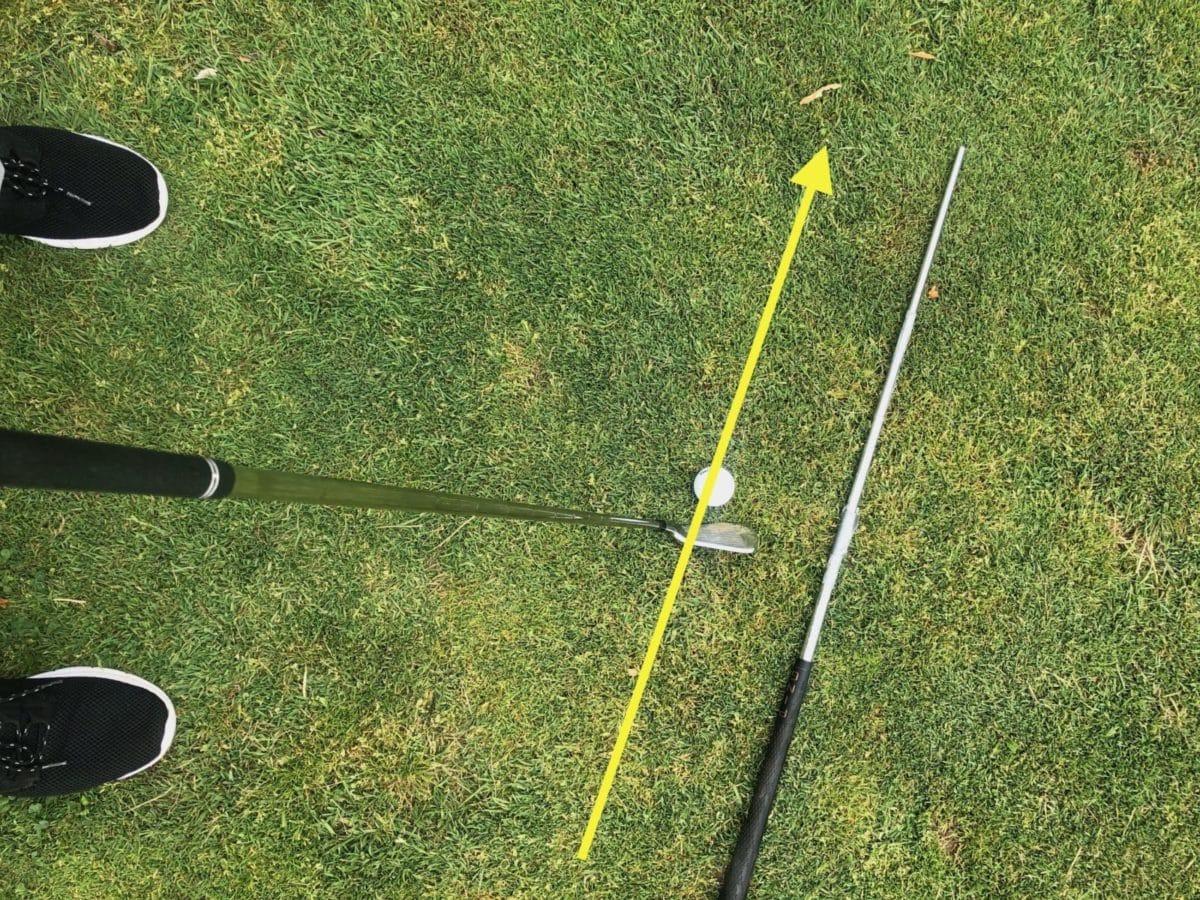 Swing path alignment