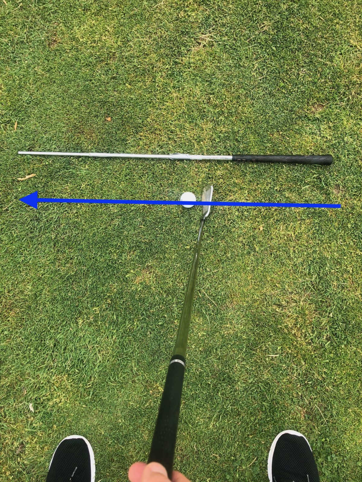 Swing path alignment