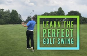 beginners golf swing