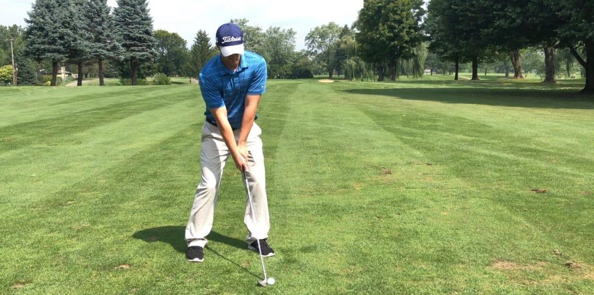 High Golf Shot