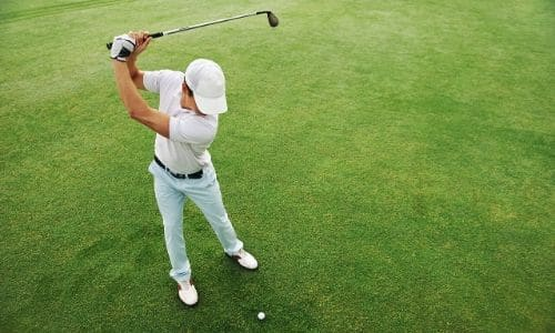 Golf Swing Too Fast